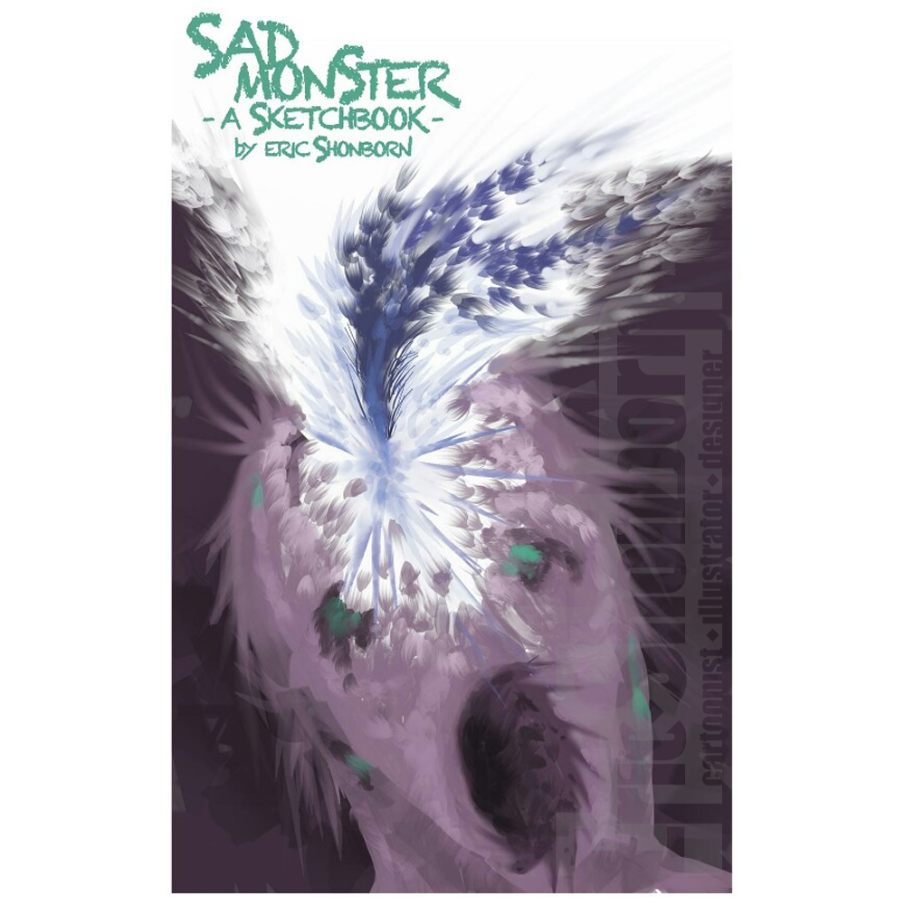 Sad Monster: A Sketchbook (Download)
