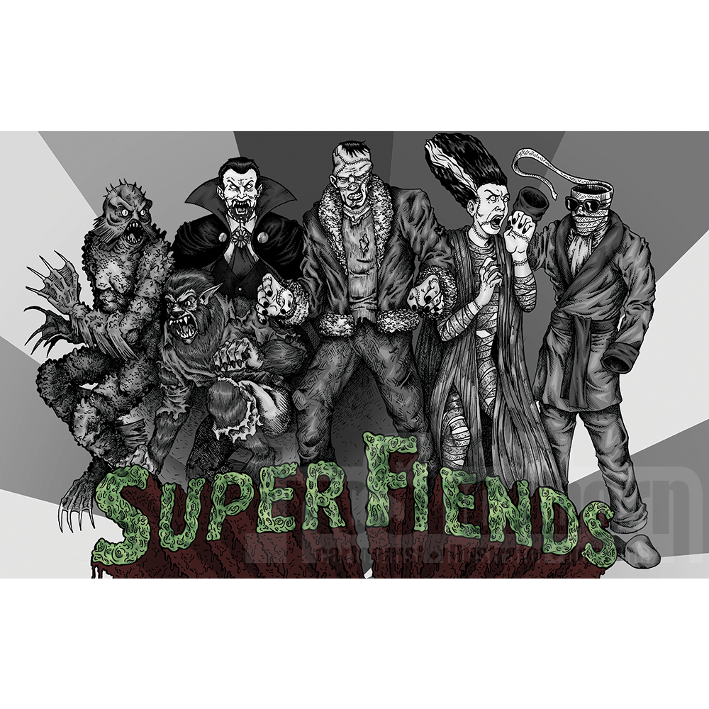 Super Fiends (Gray Variant)